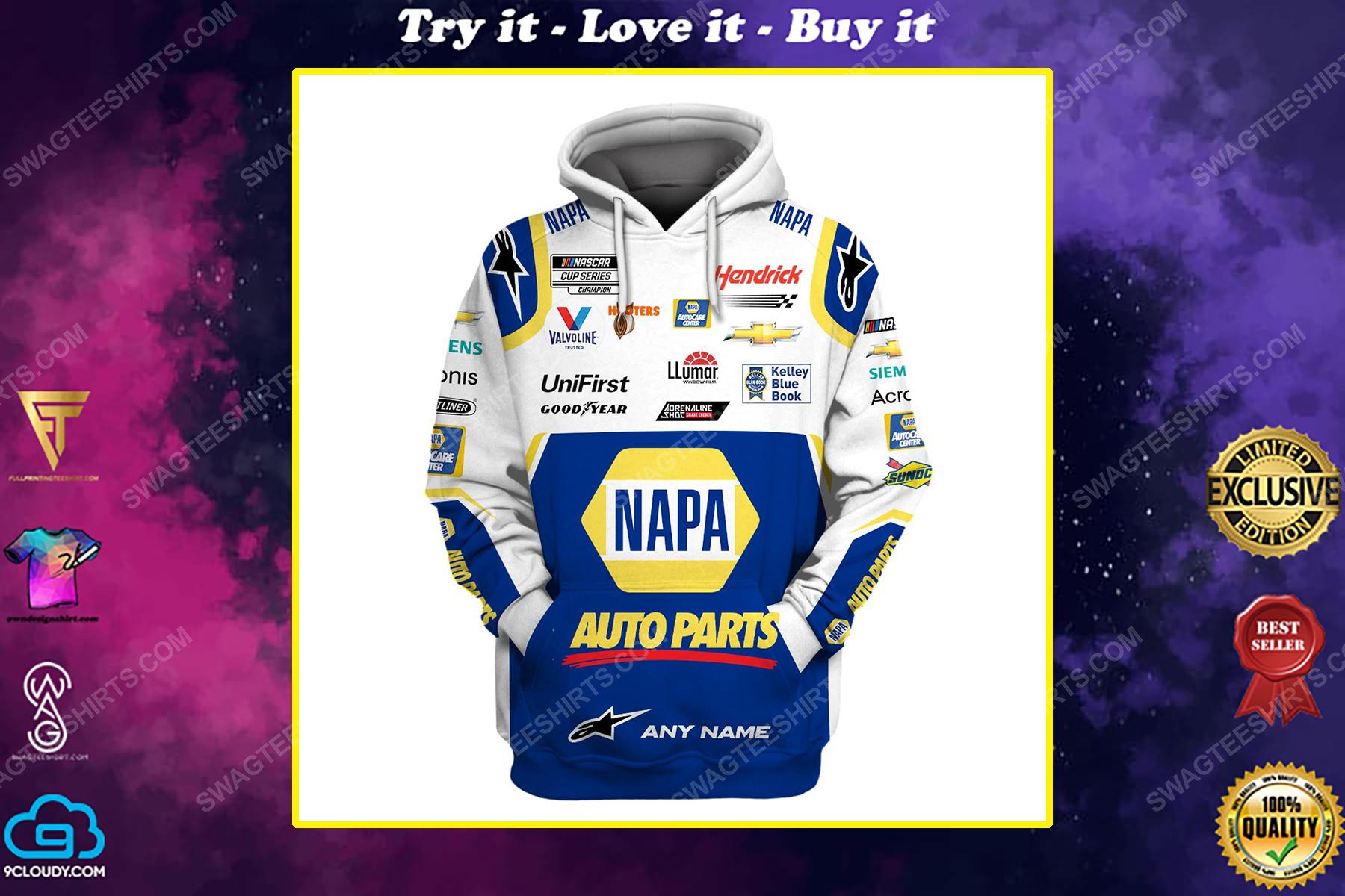 Custom napa auto parts racing team motorsport full printing shirt