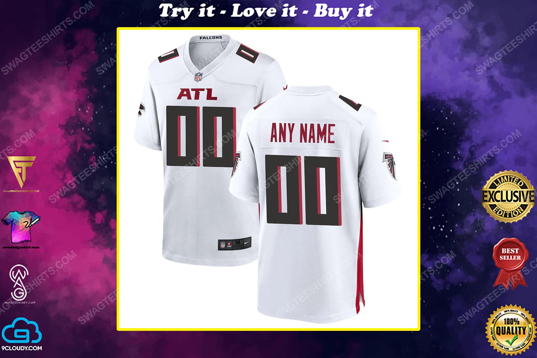 Custom nfl atlanta falcons full print football jersey