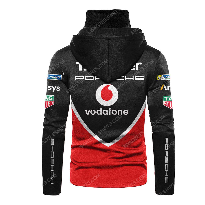 Custom tag heuer formula 1 motorsport full printing hoodie mask - back