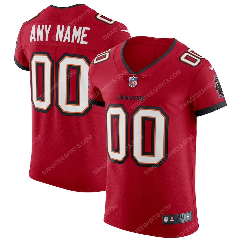 Custom tampa bay buccaneers football team full print football jersey-red - Copy