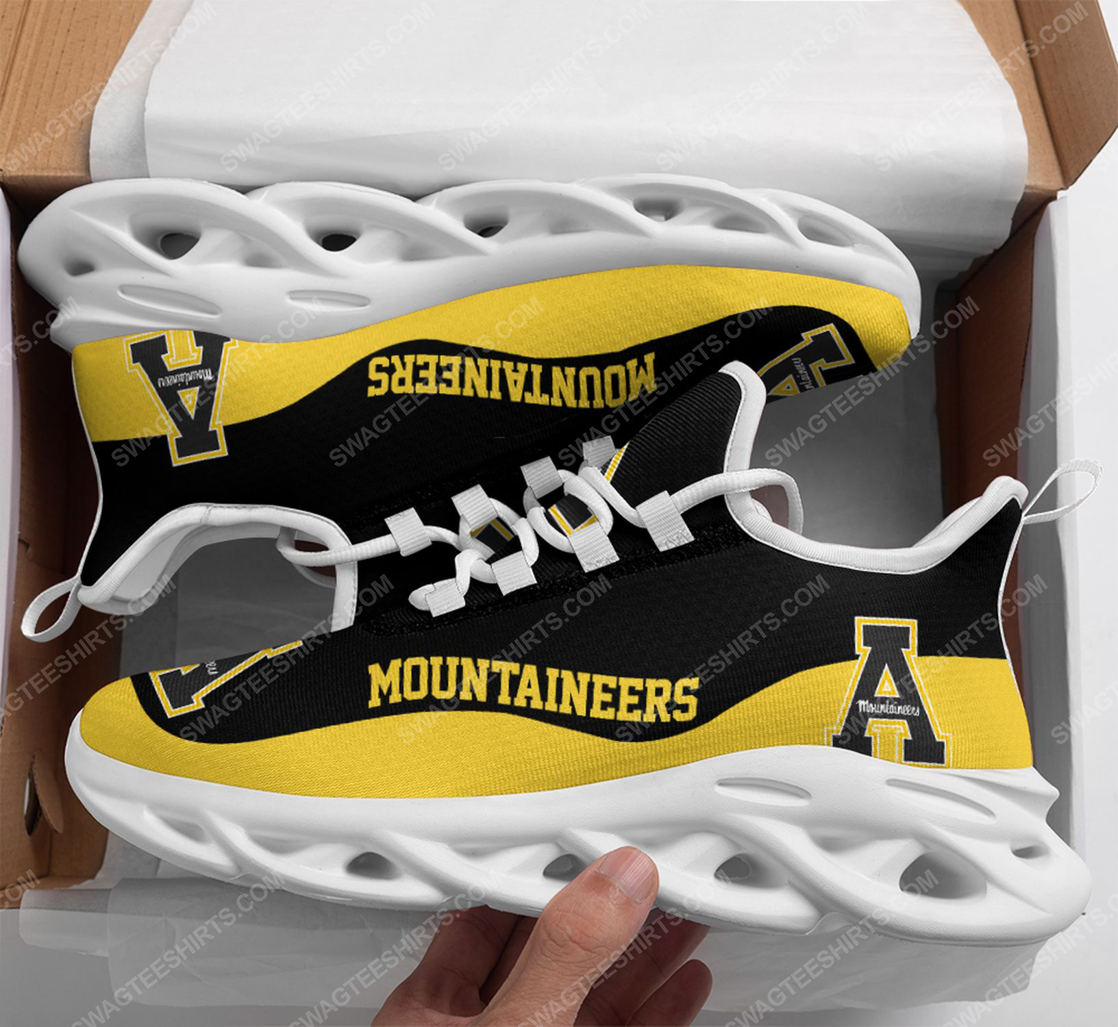 The appalachian state mountaineers football team max soul shoes 1