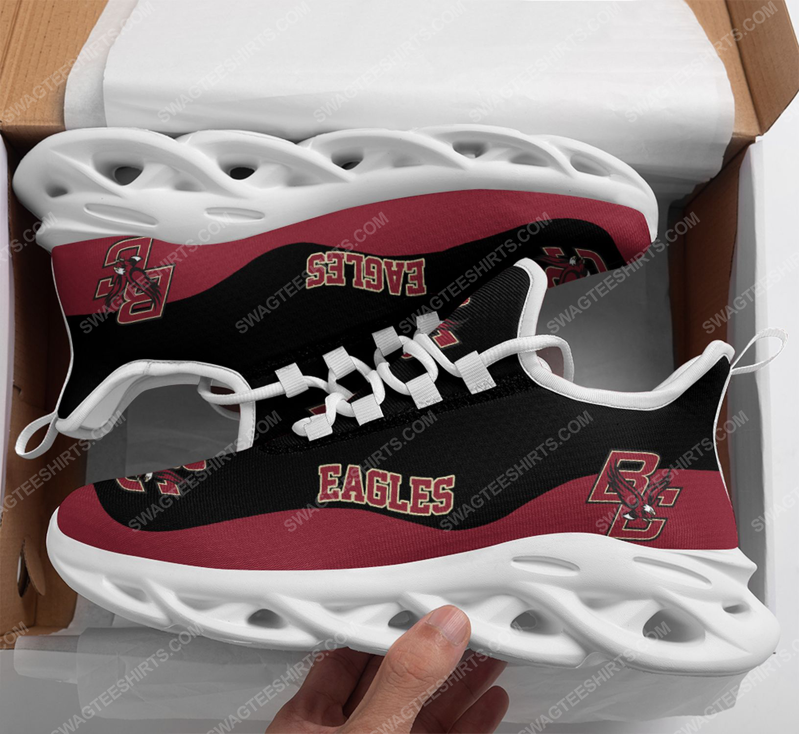 The boston college eagles football team max soul shoes 1