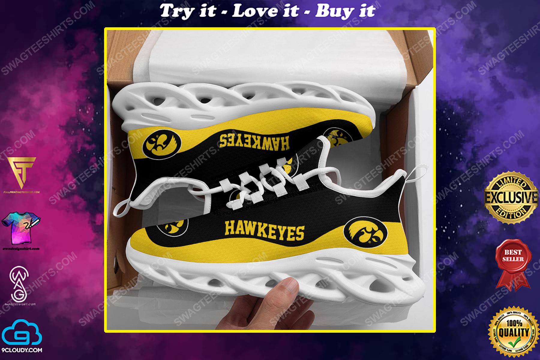 The iowa hawkeyes football team max soul shoes