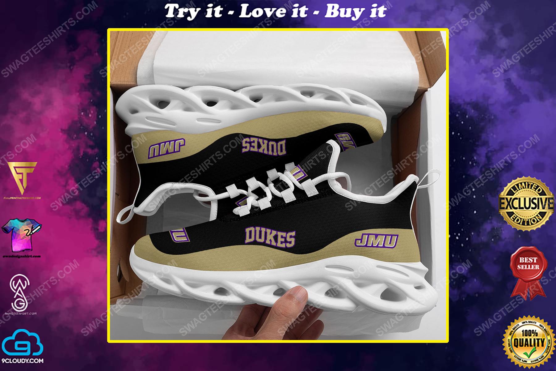 The james madison dukes football team max soul shoes
