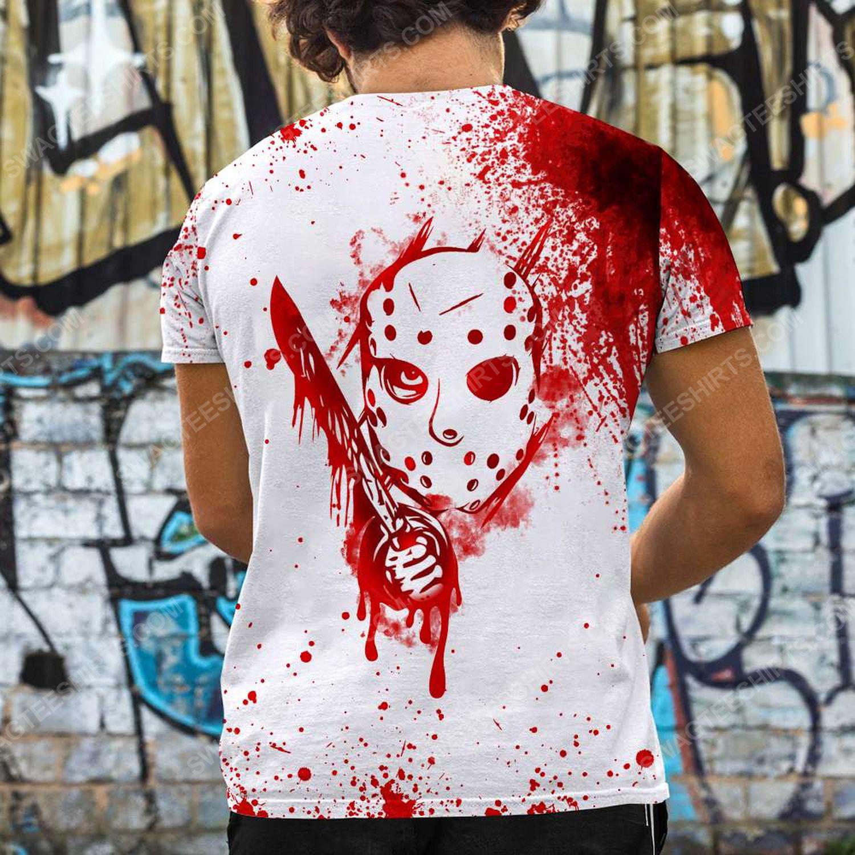 Halloween blood i don't always ch ch ch ch friday the 13th full print tshirt