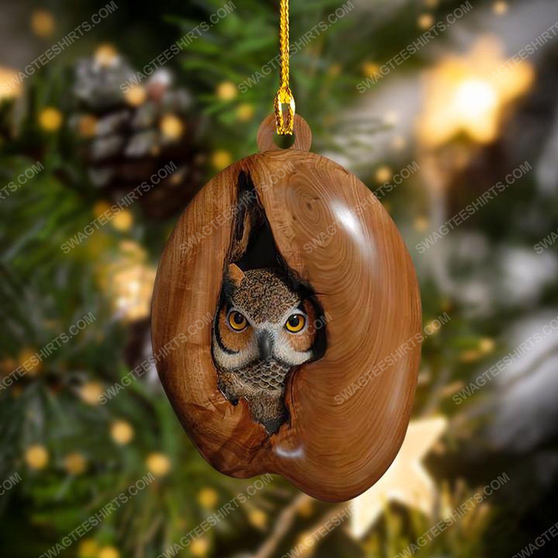 Owl lover christmas gift ornament