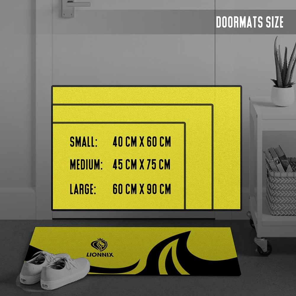 doormat size chart
